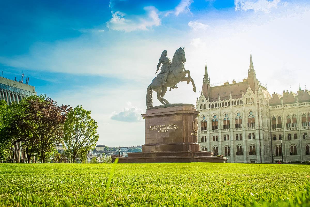 Statue Ferenc Rákóczi II